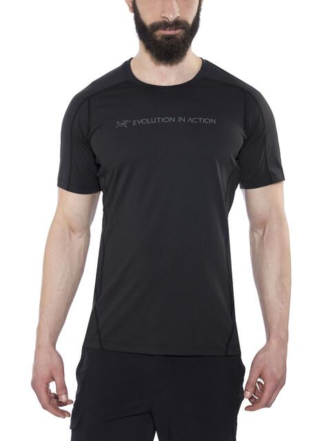 Arc'teryx Phasic Evolution Crew SS Shirt Men Black